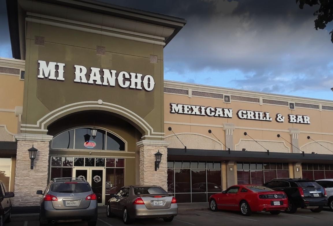 Mi Rancho Dinner Menu