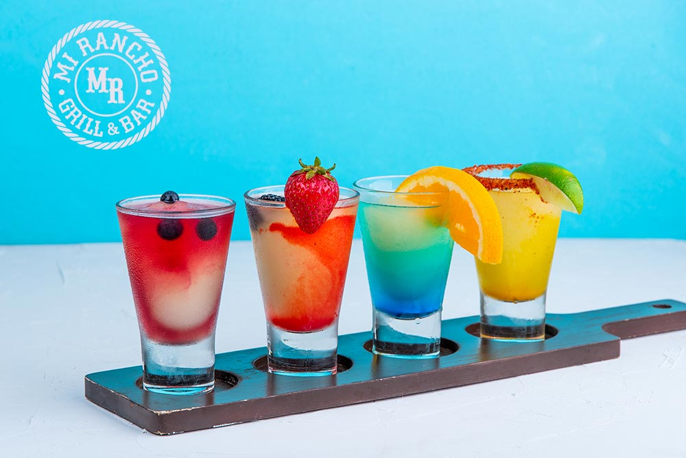 Rainbow Margaritas
